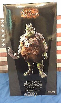 Sideshow Toys Star Wars Gamorrean Guard 1/6 Scale Figure MIB
