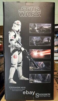 Sideshow star wars commander Neyo 1/6 scale toys 12 inch boxed action figure