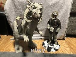 Star War Hot Toys Sideshow Han Solo Hoth 1/6 Scale Action Figure With Tauntaun