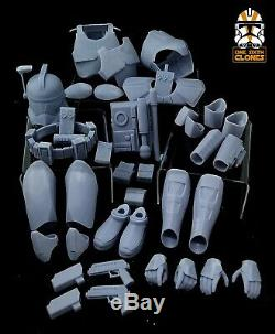Star Wars 1/6 Clone ARC Trooper Armor Kit for Custom Figure Sixth Scale Model