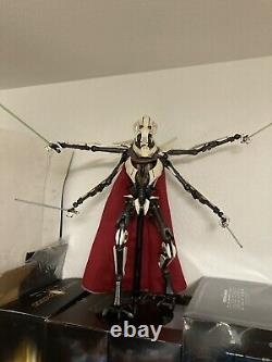 Star Wars 1/6 Scale Figure General Grievous Sideshow Used