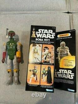 Star Wars BOBA FETT Vintage 12 Inch Scale Action Figure Kenner 1978 with Backpac