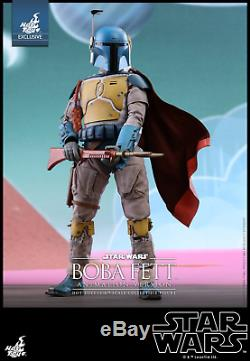 Star Wars Boba Fett Animated 1/6th Scale Figure by Sideshow / Hot Toys