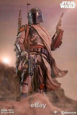 Star Wars Boba Fett Mythos 16 Scale Action Figure Sideshow Collectibles Fre