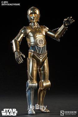 Star Wars C3PO Deluxe Action Figure Sideshow Collectibles 1/6 Sixth Scale Droid