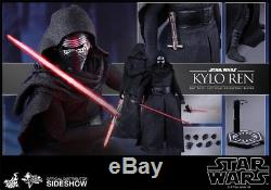 Star Wars Force Awakens Kylo Ren 1/6th Scale Figure (2015) Sideshow Hot Toys New