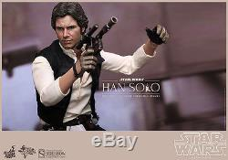 Star Wars Han Solo 16 Scale Movie Masterpiece Series Figure By Hot Toys