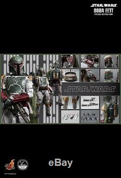 Star Wars Hot Toys 1/4 Scale Boba Fett Return of the Jedi Action Figure New