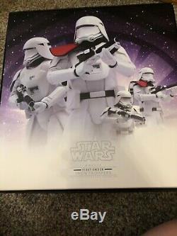 Star Wars Hot Toys First Order Snowtroopers 1/6 Scale Figure Set Officer