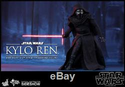 Star Wars Hot Toys Kylo Ren 1/6 Scale Figure The Force Awakens First Order New