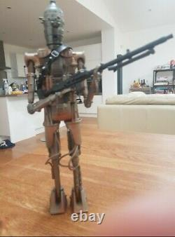 Star Wars IG-88 1/6 scale 12 figure 2000 Power of the Jedi 13 inch loose