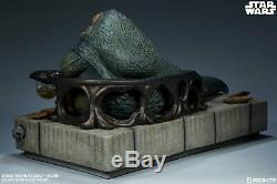 Star Wars JABBA THE HUTT and THRONE Deluxe Figure 1/6 Scale Sideshow In Stock