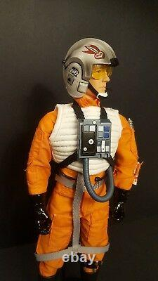 Star Wars, Rogue One X-Wing Pilot Figure 1/6 Scale, 12 Tall