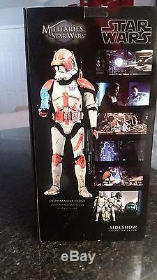 Star Wars SideShow Exclusive Commander Cody 16 Scale Figure MINT