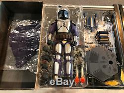 Star Wars Sideshow Collectibles Hot Toys Sixth Scale Jango Fett Action Figure