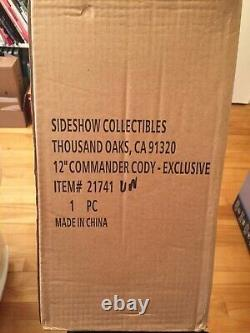 Star Wars Sideshow Commander Cody Exclusive 1/6 scale figure from 2010