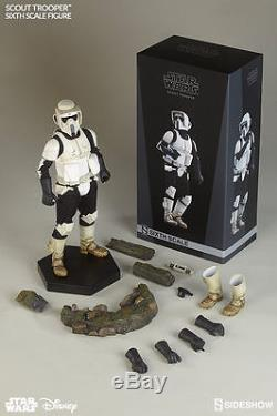 Star Wars Sideshow Scout Trooper 1/6 Scale Figure Return Of The Jedi New Endor