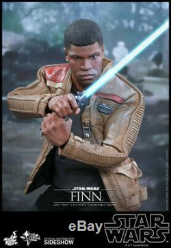 Star Wars The Force Awakens Finn 1/6 Scale Hot Toys 12 Figure MMS345
