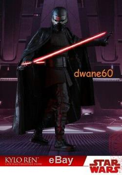 Star Wars The Last Jedi Kylo Ren Sixth Scale Figure by Hot Toys NEW
