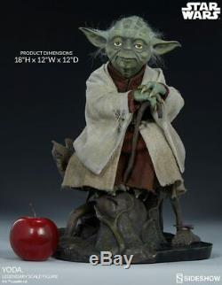 Star Wars YODA Legendary Scale Figure by Sideshow Collectibles 400159