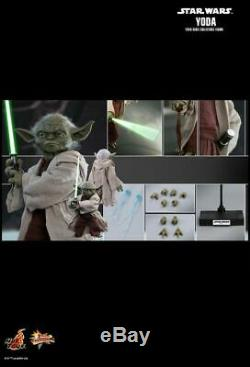 Star Wars Yoda Episode II Attack of the Clones 16 Scale Action Figure-HOTM