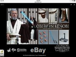 Star wars a new hope obi wan kenobi hot toys sideshow sold out Sixth Scale Figur