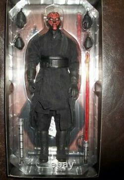 Star wars sideshow 12 1/6 scale exclusive darth maul sith deluxe version figure