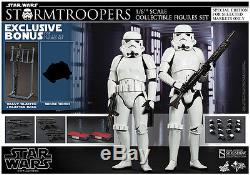 Stormtroopers Star Wars Episode IV A New Hope Sixth Scale Figure Set Hot Toys